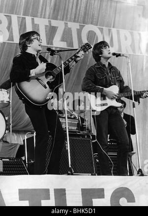 Peter and Gordon, British music group (pop), 1964 - 1968, (* 22.6.1944), Gordon Waller (4.6.1945 - 17.6.2009), during - Stock Photo