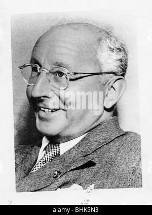 Jerome Kern (1885-1945), American composer. - Stock Photo