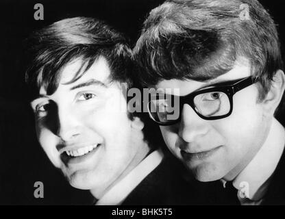 Peter and Gordon, British music group (pop), 1964 - 1968, Gordon Waller (4.6.1945 - 17.6.2009), Peter Asher (* 22.6.1944), - Stock Photo