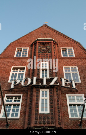Davidwache, Reeperbahn, St. Pauli, Hamburg, Deutschland police station Davidwache, Reeperbahn, St. Pauli, Hamburg, - Stock Photo