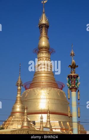 Myanmar, Burma, Yangon, Rangoon, Botataung Pagoda; - Stock Photo