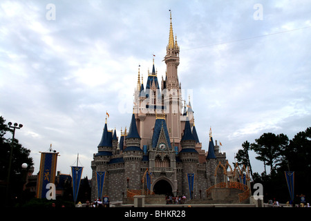 Magic Kingdom Walt Disney World Florida USA - Stock Photo