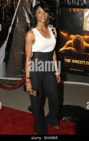 CIARA THE WRESTLER LOS ANGELES PREMIERE BEVERLY HILLS LOS ANGELES CA USA 16 December 2008 - Stock Photo