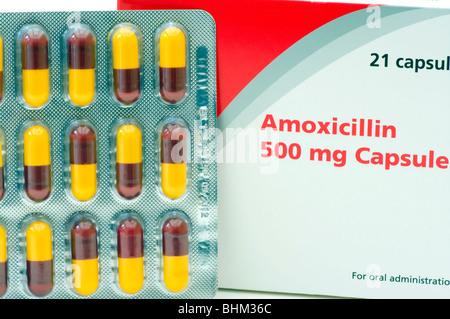 Amoxicillin capsules Stock Photo, Royalty Free Image ...