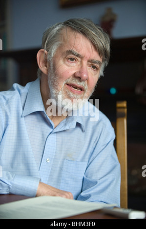 Paul Flynn MP Labour Party Member of Parliament for Newport West, South Wales, UK - Stock Photo