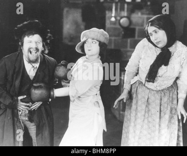 Scene from East and West, 1923. Artist: Unknown - Stock Photo