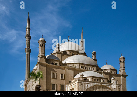 The Mosque of Muhammad Ali Pasha or Alabaster Mosque Cairo Egypt - Stock Photo