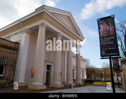 The New Walk Museum and Art Gallery in Leicester City Centre, Leicestershire England UK - Stock Photo
