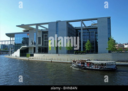 geography / travel, Germany, Berlin, buildings, Marie-Elisabeth-Lueders House, Library of the German Parliament, - Stock Photo