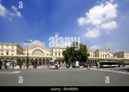 geography / travel, France, Paris, Gare de l'Est (East Station), Additional-Rights-Clearance-Info-Not-Available - Stock Photo