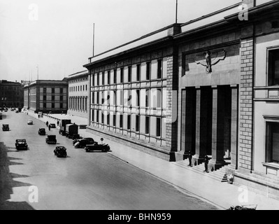 Nazism / National Socialism, architecture, New Reich Chancellery, Berlin, Voßstreet 4-6, built 1938/1939 by Albert - Stock Photo