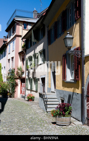 geography / travel, Austria, Vorarlberg, Bregenz, Oberstadt (Upper City), Additional-Rights-Clearance-Info-Not-Available - Stock Photo