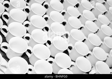 tea coffee break breaks comfort drink drinks hot caffeine mug mugs cafe cups cup brew time teabreak - Stock Photo