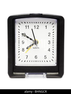 Alarm clock close up - Stock Photo