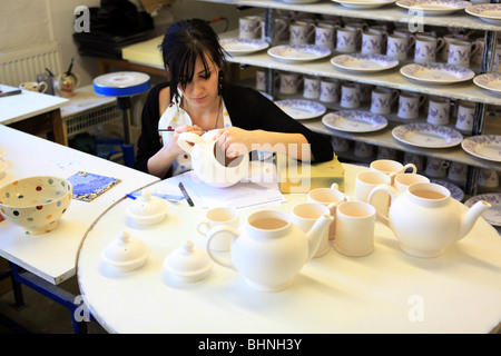Emma Bridgewater,pottery,Stoke on Trent,polka dot - Stock Photo