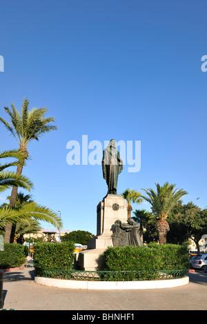 Christ King monument, Valletta - Stock Photo