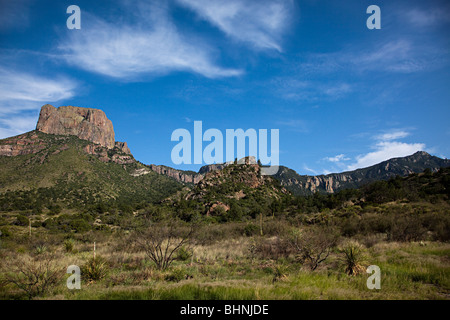 Mountains Big Bend National Park Texas USA - Stock Photo