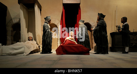 Knights Hospitallers, display models - Stock Photo