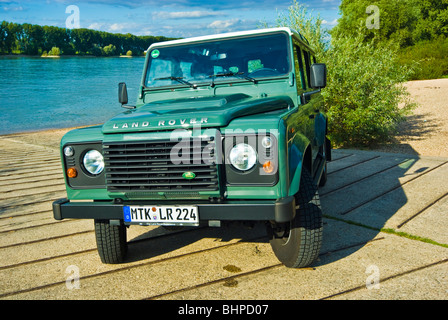 Land Rover Defender Grill Stock Photo 310054474 Alamy