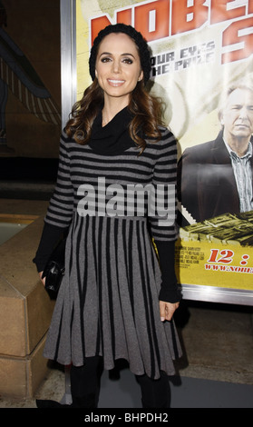 ELIZA DUSHKU NOBEL SON LOS ANGELES PREMIERE HOLLYWOOD LOS ANGELES CA USA 02 December 2008 - Stock Photo