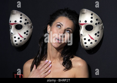 AMERICA OLIVO FRIDAY THE 13TH LOS ANGELES PREMIERE HOLLYWOOD LOS ANGELES CA USA 09 February 2009 - Stock Photo
