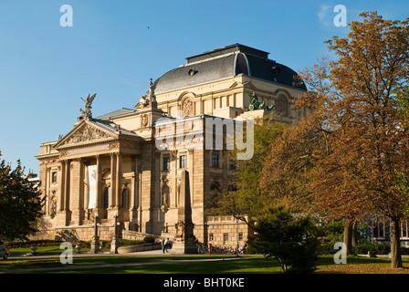 Hessisches Staatstheater, Wiesbaden, Hessen, Deutschland   theatre, Wiesbaden, Hessen, Germany - Stock Photo