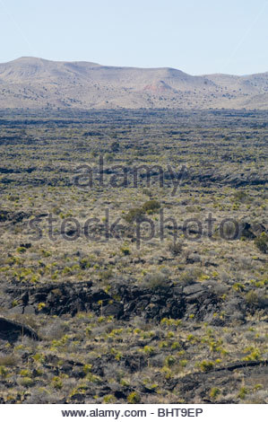 Valley of Fires Nature Trail Carrizozo, New Mexico - Stock Photo