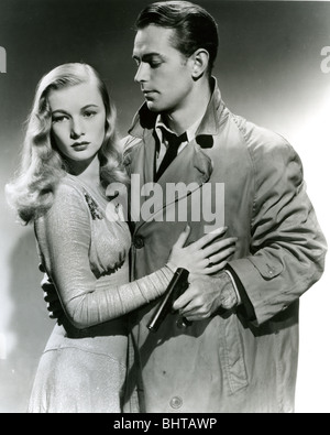 THIS GUN FOR HIRE - 1944 Paramount film with Veronica Lake and Alan Ladd - Stock Photo