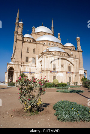 Mohamed Ali Mosque in the Saladin Citadel of Cairo, Egypt. - Stock Photo