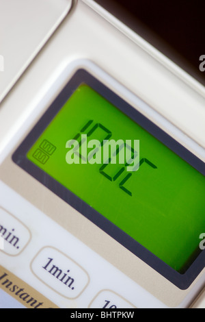 microwave oven display - Stock Photo