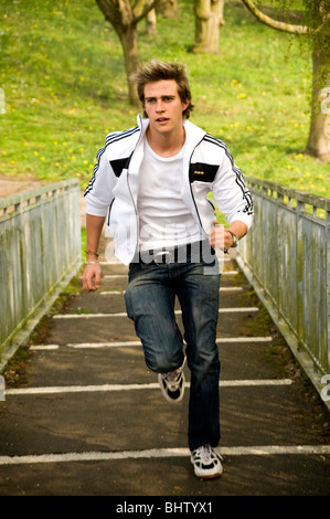 Teen boy running videos freee