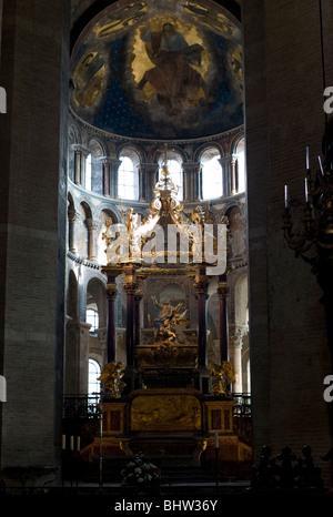 Tomb of Saint Saturnin.,Basilica of Saint-Sernin, Toulouse, Haute-Garonne, Occitanie, France, Europe - Stock Photo
