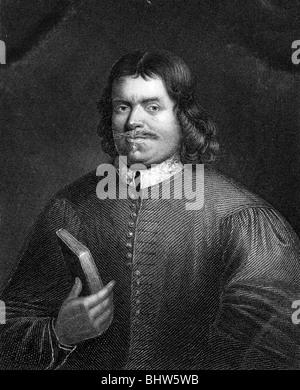 JOHN BUNYAN - English writer and preacher (1628-88) - Stock Photo