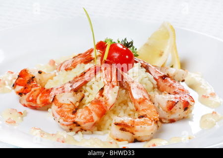 how to cook king tiger prawns