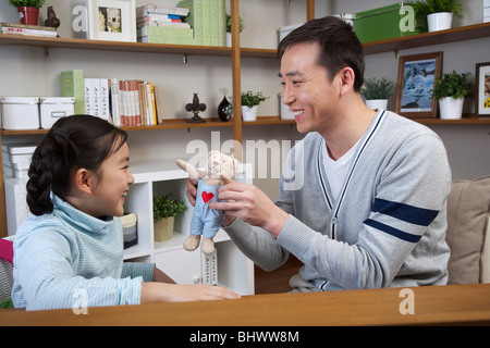 Family life in current China - Stock Photo