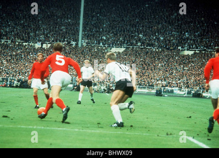 World Cup Final 1966 England 4 West Germany 2 - Stock Photo