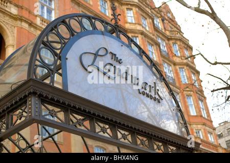The Landmark Hotel, Marylebone Road, London, England, UK, Europe - Stock Photo