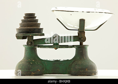 weight balance scale - Stock Photo