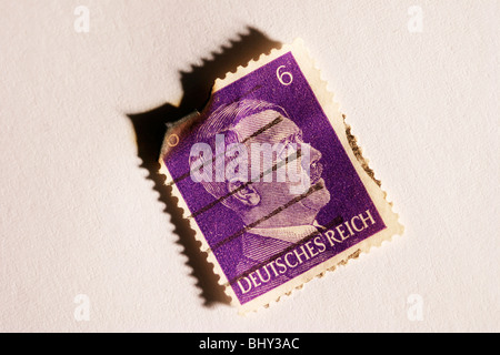 stamps in the Third Reich - Stock Photo