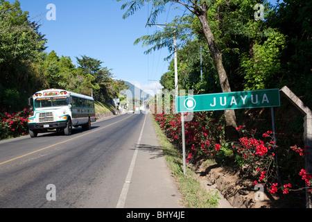Juayua, Ruta de las Flores, El Salvador - Stock Photo