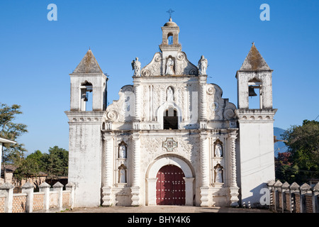 Iglesia Las Mercedes Church, Gracias, Honduras - Stock Photo