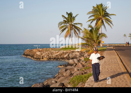 North End, Big Corn Island, Nicaragua - Stock Photo