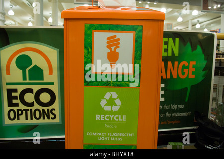 ... Compact Fluorescent Light Bulb Recycling Bin Seen In A Home Depot Store  In New York   Gallery