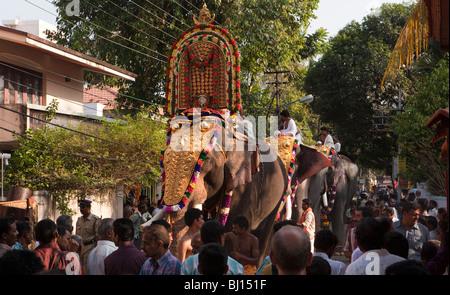 India, Kerala, Kochi, Ernakulam Uthsavom festival ...