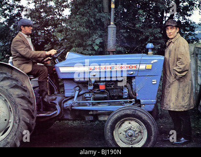 THE MAGNIFICENT SEVEN DEADLY SINS - 1971 Tigon film with Spike Milligan at right - Stock Photo