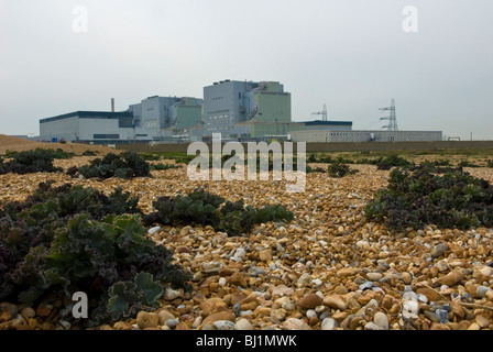 Dungeness Nuclear Power Station, Dungeness, Kent, UK - Stock Photo