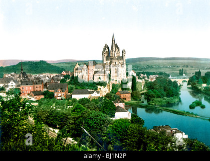Limburg heute Limburg an der Lahn) - Stock Photo