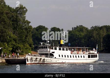 Archipelago Ferry, Stockholm, Sweden - Stock Photo