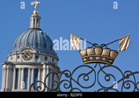 The Old Royal Naval College Greenwich - Stock Photo