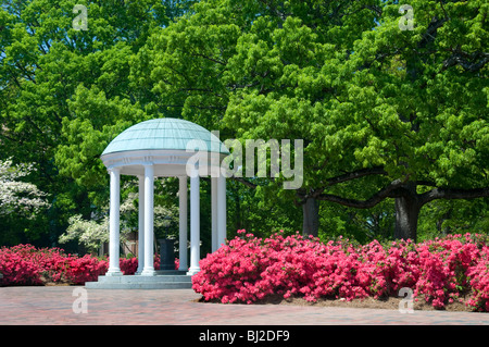 The Old Well, University of North Carolina, Chapel Hill - Stock Photo